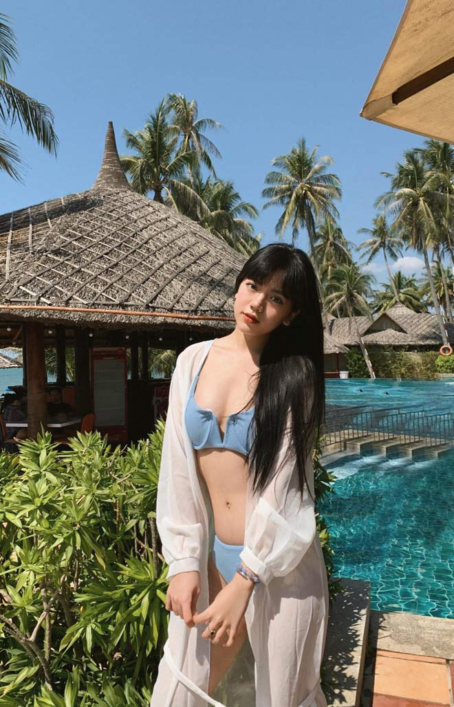 """Đăng ảnh thời chưa dậy thì, hot girl Lâm Đồng khiến dân mạng thốt lên """"không tin nổi"""" - hình ảnh 8"""