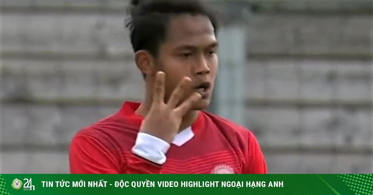 SAO Indonesia lập hat-trick trong 6 phút vào lưới đội bóng Anh gây sốt