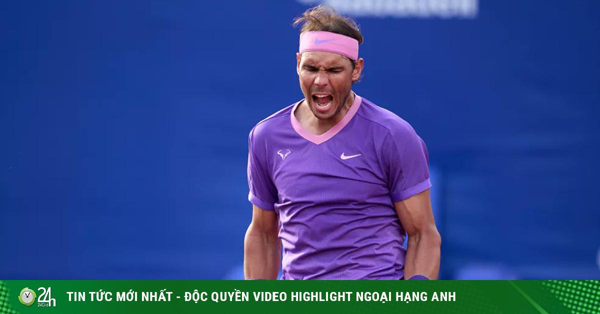 Video tennis Nadal - Carreno Busta: Sức mạnh vũ bão, ngôi vua trước mặt (Bán kết Barcelona Open)