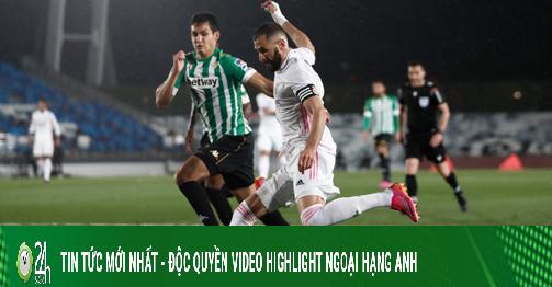 Video Real Madrid - Betis: Sức ép nghẹt thở, hụt hơi bảo vệ ngôi vương