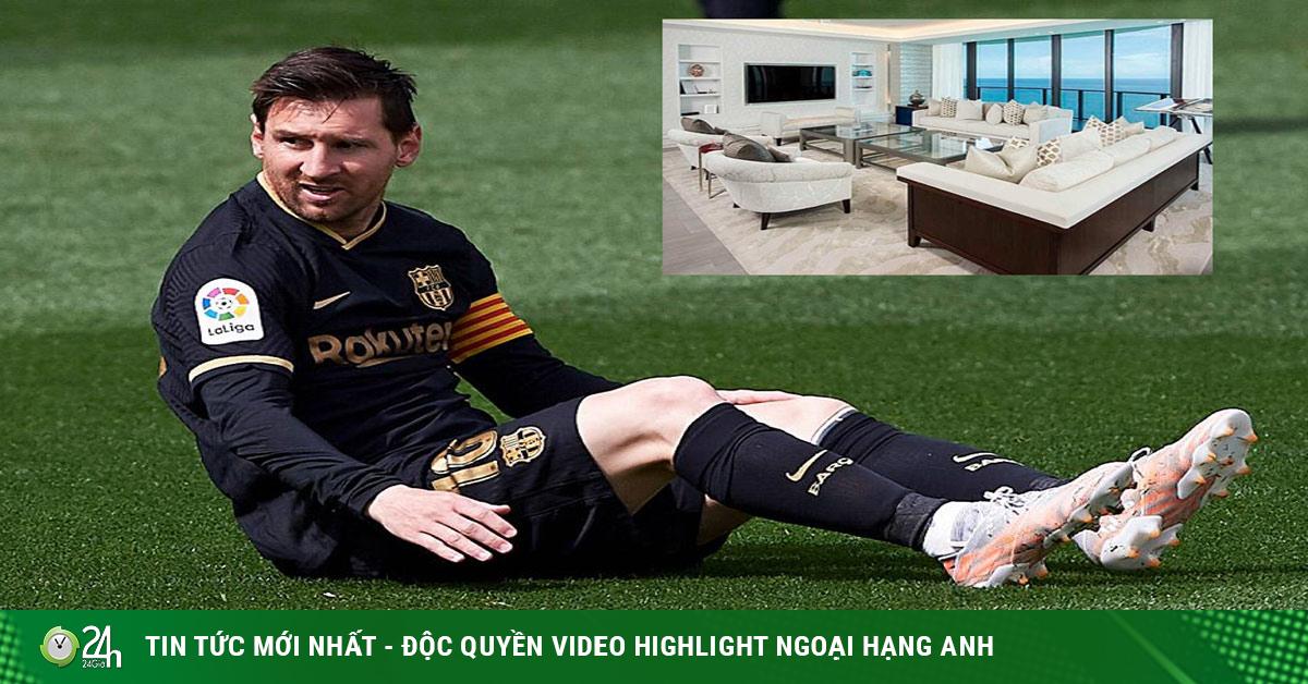 Messi báo tin vui cho chủ tịch Beckham: Mua siêu biệt thự 5 triệu bảng ở Mỹ
