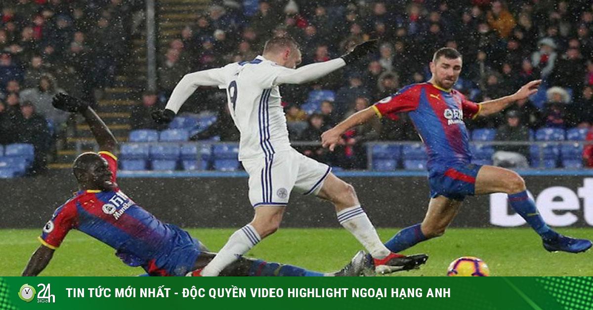 Trực tiếp bóng đá Leicester - Crystal Palace: Chờ Vardy - Iheanacho tỏa sáng