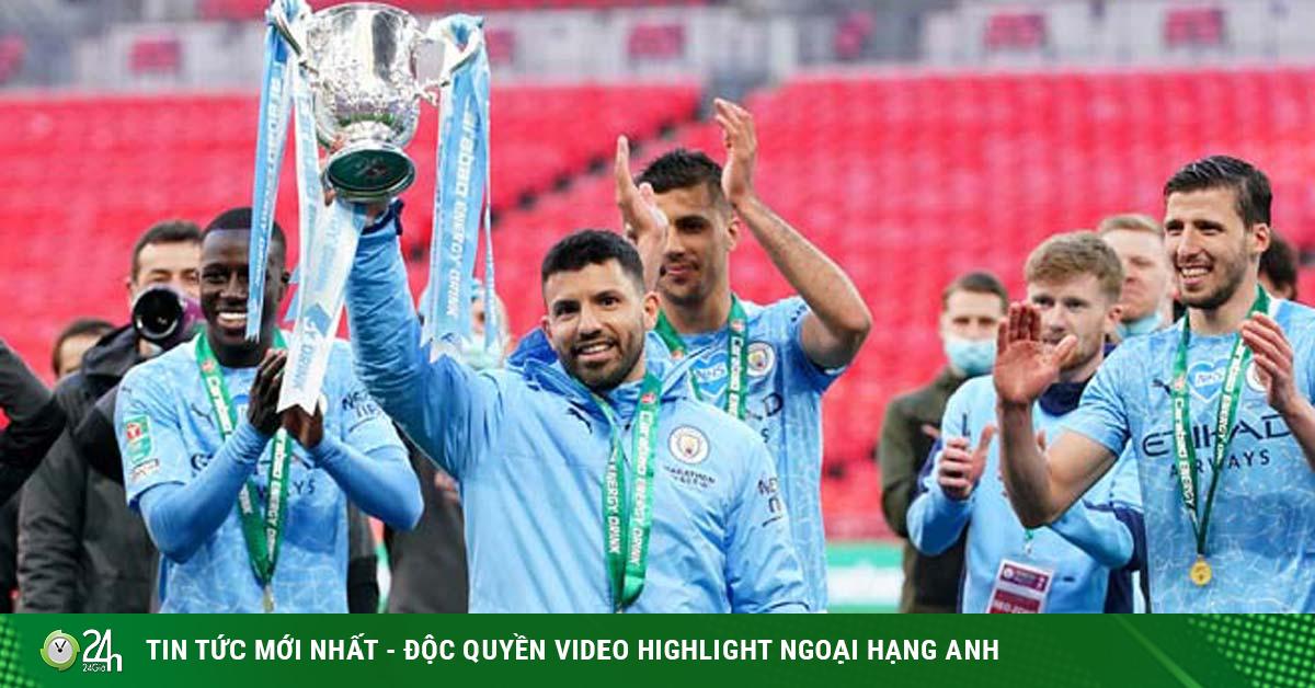 Man City vô địch Cúp Liên đoàn 4 mùa liên tiếp, tiến gần giấc mơ ăn 4