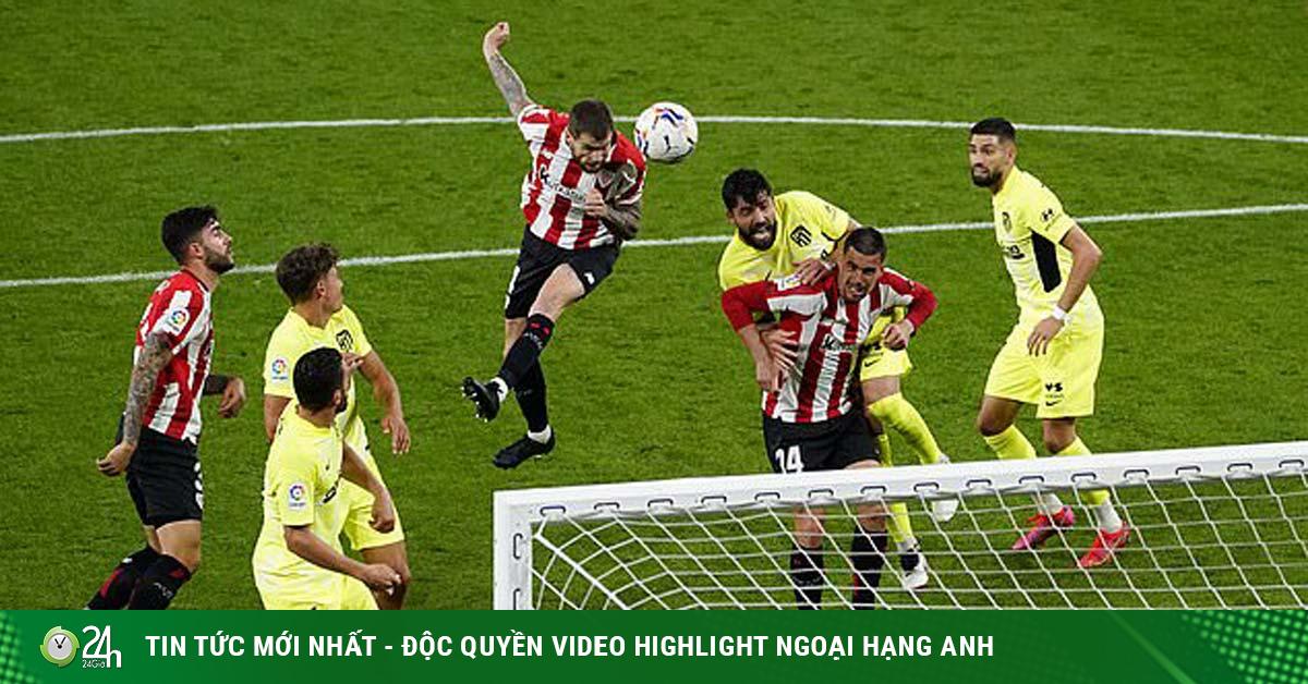 Video Bilbao - Atletico Madrid: Địa chấn choáng váng, bước ngoặt đua vô địch