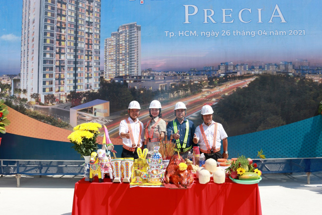 Cất nóc vượt tiến độ, dự án Precia gia tăng uy tín với khách hàng - 4