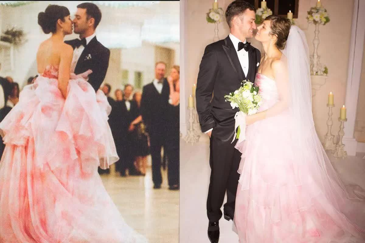 Những bộ váy cưới thay đổi quan niệm truyền thống của người nổi tiếng - hình ảnh 7