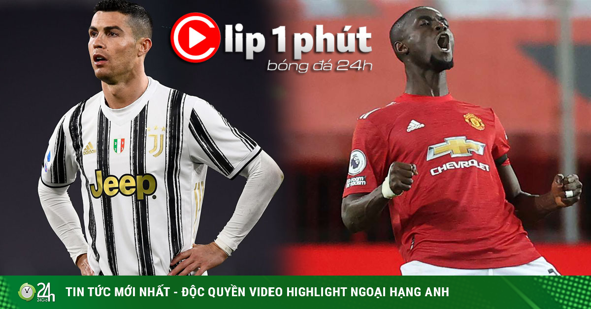 Juventus và Ronaldo lo bị cấm đá Serie A, MU gây sốc giữ người thừa Bailly (Clip 1 phút Bóng đá 24H)