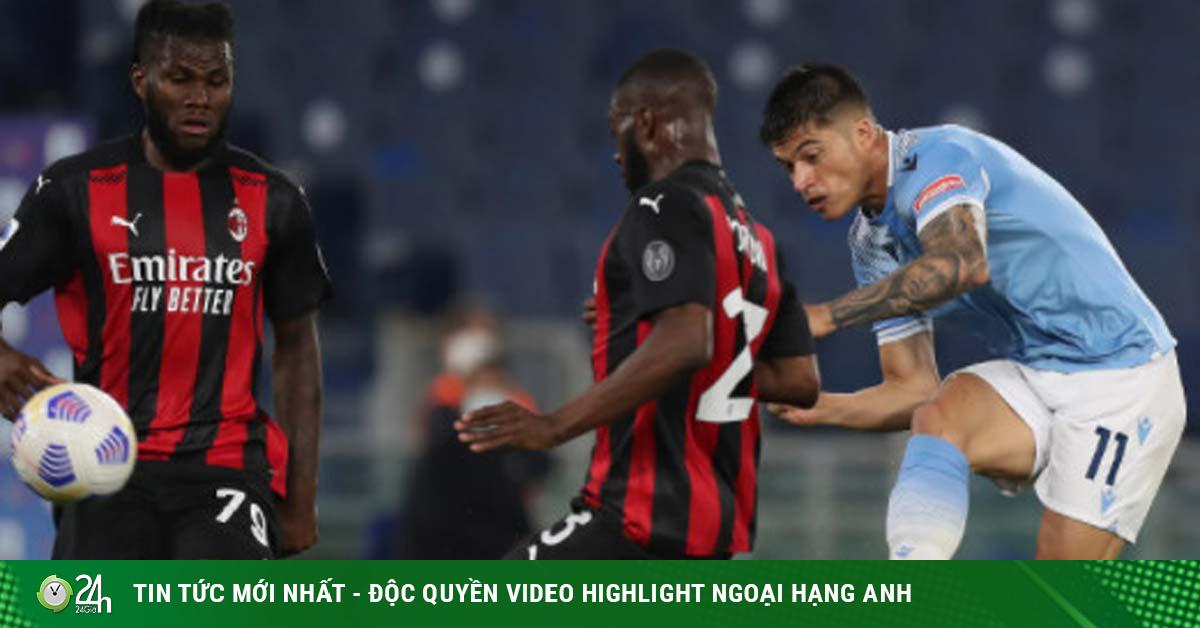 Video Lazio - AC Milan: 3 bàn choáng váng, thất thế đua top 4