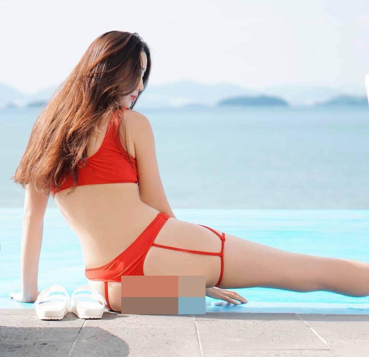 """Các chị đẹp Hàn Quốc diện """"bikini dây dợ"""" dễ gây """"gai mắt"""" vì khoe đường cong bốc lửa - hình ảnh 2"""