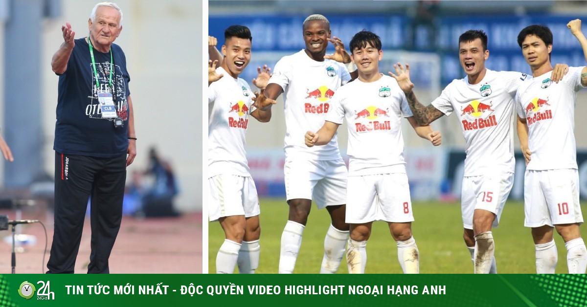 HLV Petrovic: Cầu thủ HAGL nhắm mắt cũng chơi được với nhau