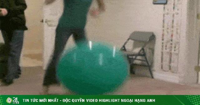 Chơi bóng cũng nhiều rủi ro lắm nhé các bạn trẻ!