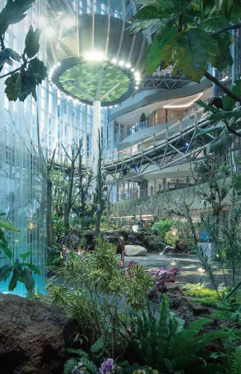 Công viên hiện đại bậc nhất TQ, những cảnh trong phim viễn tưởng đều có tại đây - hình ảnh 2