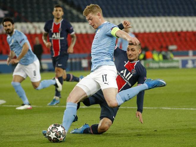 Man City hạ PSG đại náo các thống kê, De Bruyne lập kỳ tích tựa Messi - 1