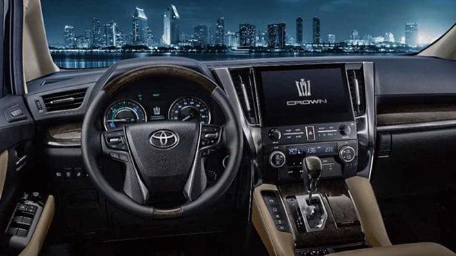 Xe sang Toyota Crown có thêm biến thể minivan cực ngầu - 7