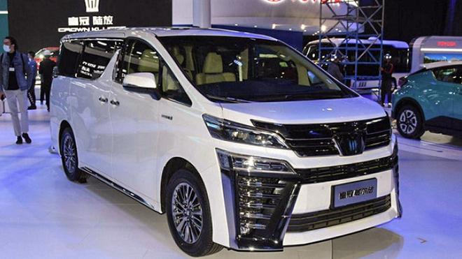 Xe sang Toyota Crown có thêm biến thể minivan cực ngầu - 1