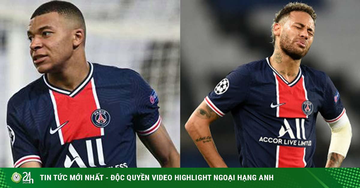 Sốc Mbappe chạm bóng ít hơn thủ môn Man City, Neymar cầu nguyện cho PSG