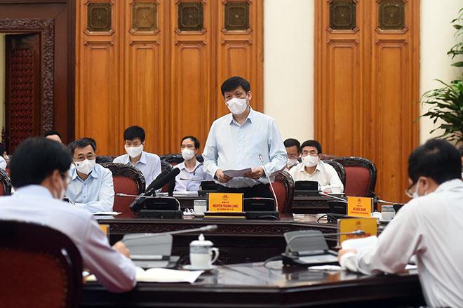 Bộ trưởng Y tế: Các tỉnh, thành phố có ca mắc COVID-19 thần tốc truy vết ổ dịch - hình ảnh 1