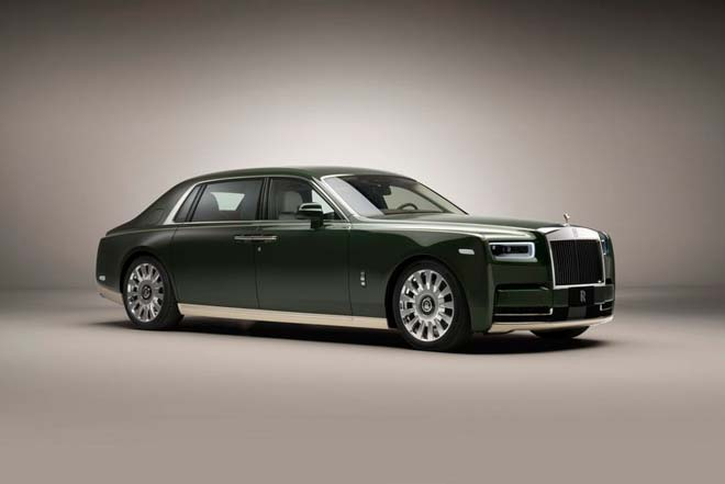 Chiêm ngưỡng cực phẩm xa xỉ Rolls-Royce Phantom Oribe x Hermès - 1