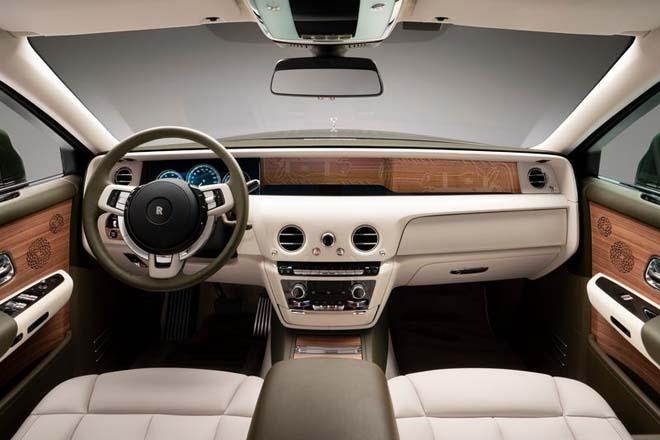 Chiêm ngưỡng cực phẩm xa xỉ Rolls-Royce Phantom Oribe x Hermès - 6