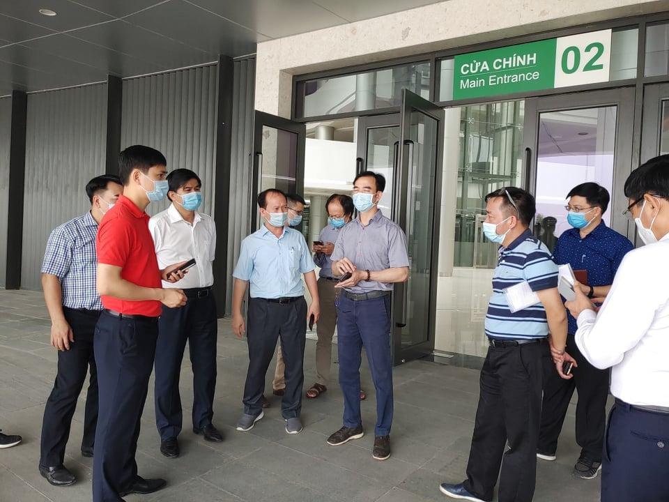Bệnh viện Bạch Mai cơ sở 2 đã sẵn sàng tiếp nhận ca COVID-19 - hình ảnh 1