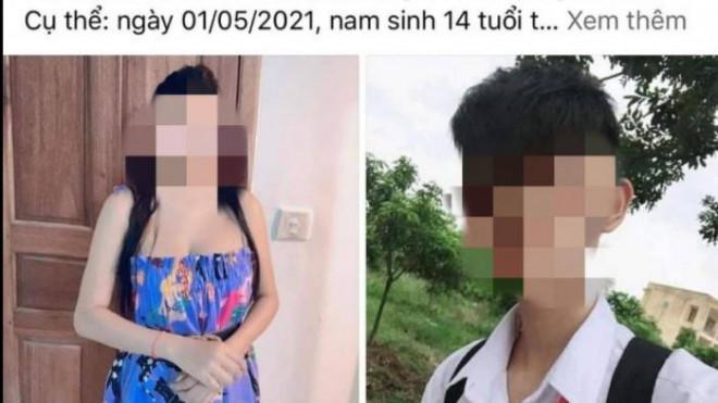 Thực hư thông tin nam sinh 14 tuổi bị phụ nữ 35 tuổi dâm ô phải cấp cứu? - 1