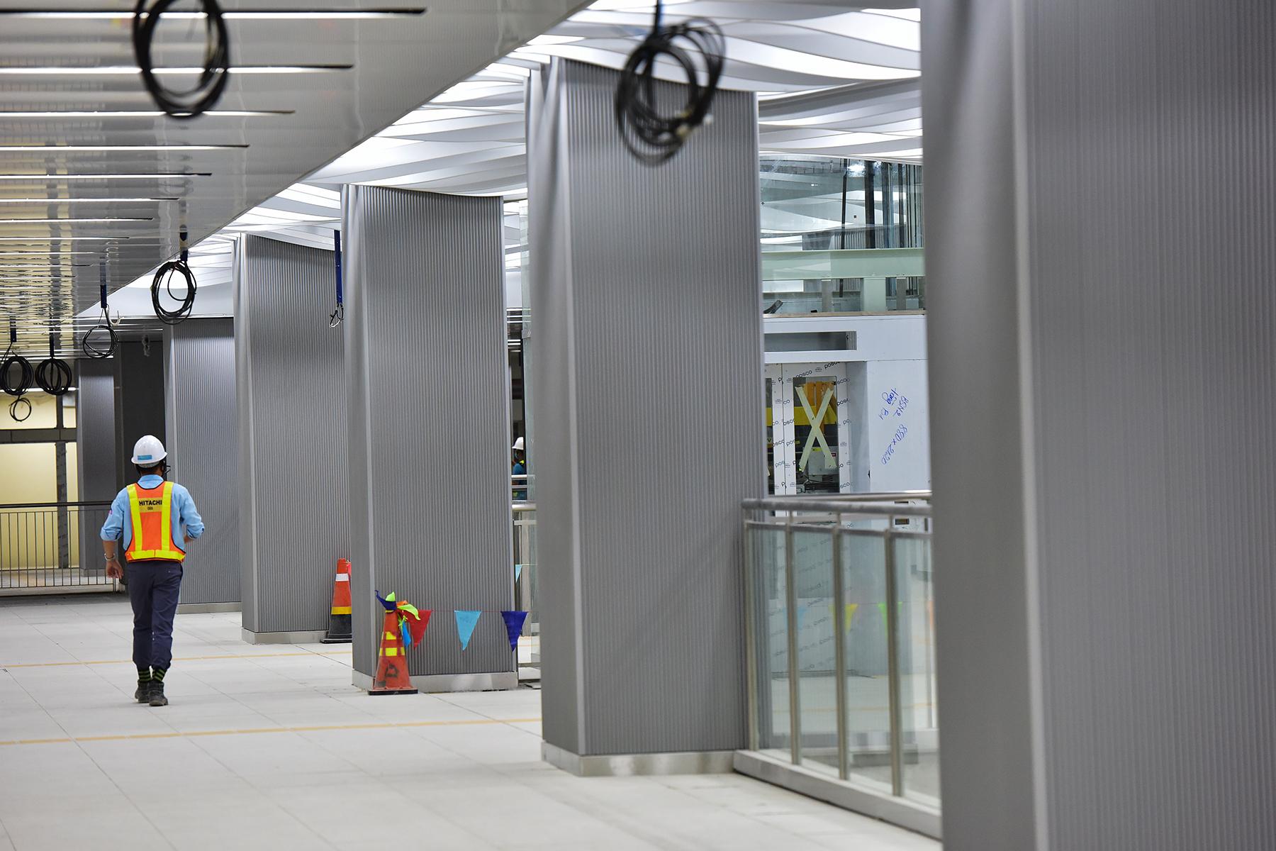 Hình ảnh ga Ba Son nằm sâu dưới lòng đất của tuyến metro số 1 - 11