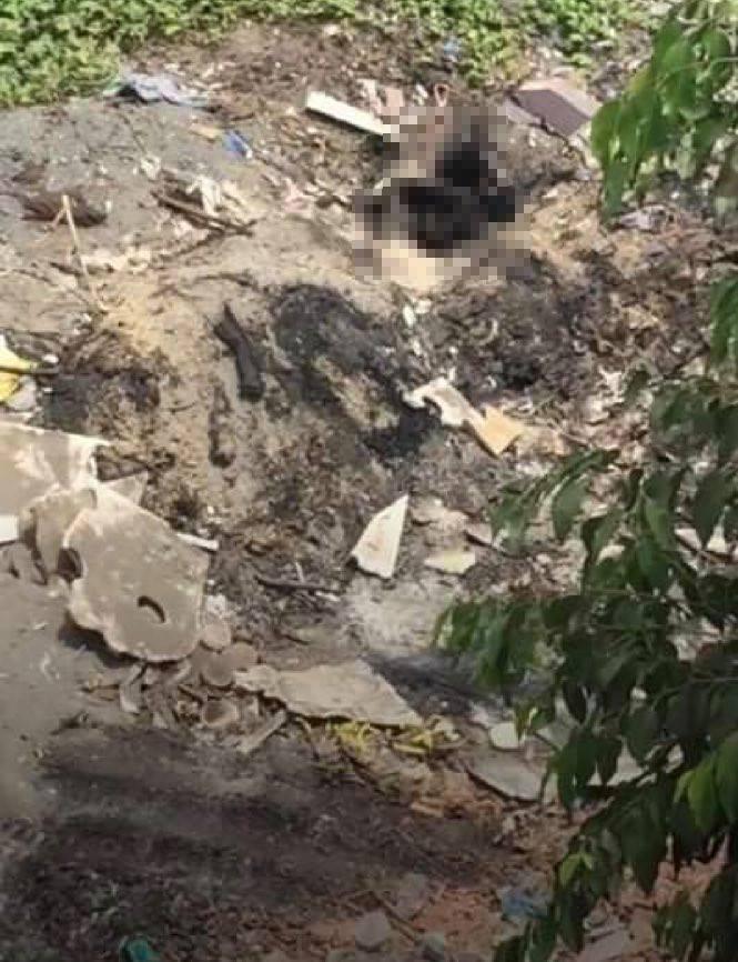 Phát hiện thi thể người đàn ông cháy đen dưới dạ cầu - 1