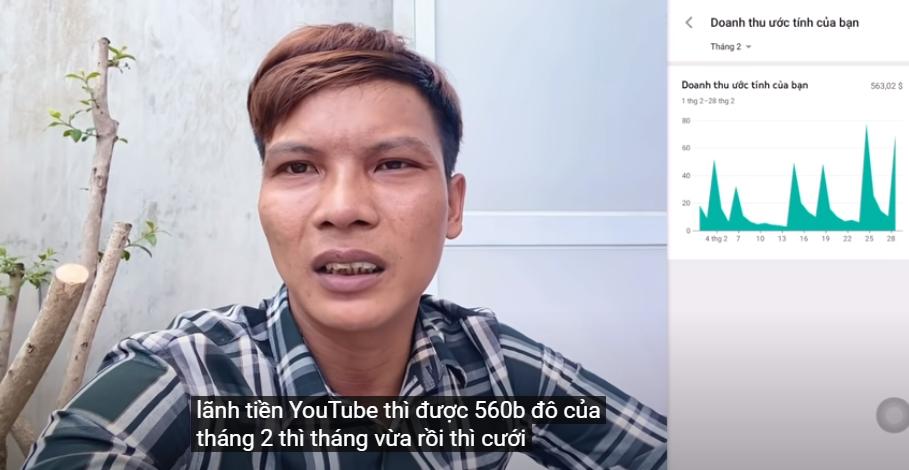 """Thu nhập của 2 YouTuber phụ hồ """"nghèo nhất"""" VN: Con số ngã ngửa - 12"""