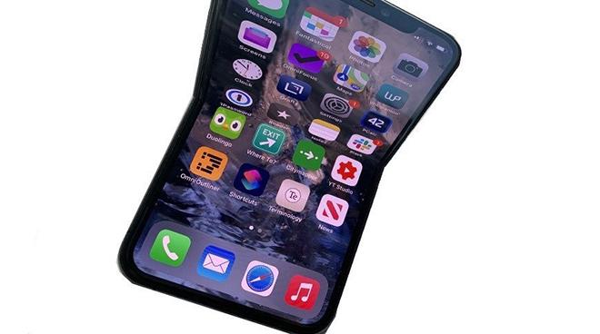 Vén màn bí mật về chiếc iPhone gập lại có màn hình 8 inch - 1