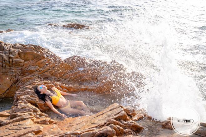 Bình Định: Khám phá vùng biển nhỏ khiêm nhường đẹp như mơ tại làng chài Bãi Xếp - 6