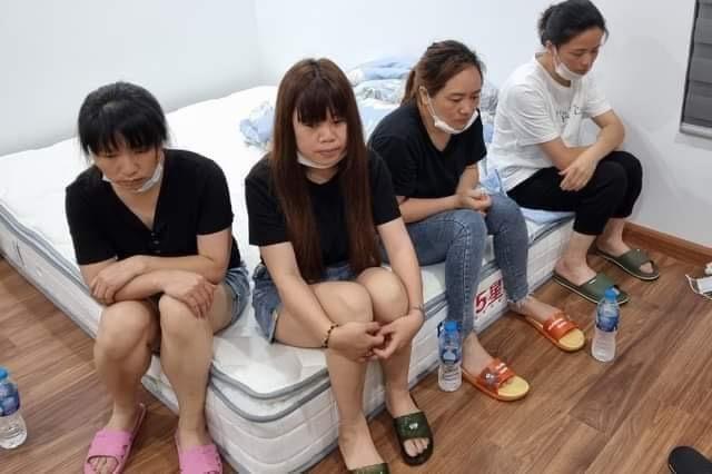 11 người Trung Quốc nhập cảnh trái phép cố thủ trong chung cư ở Hà Nội - hình ảnh 1