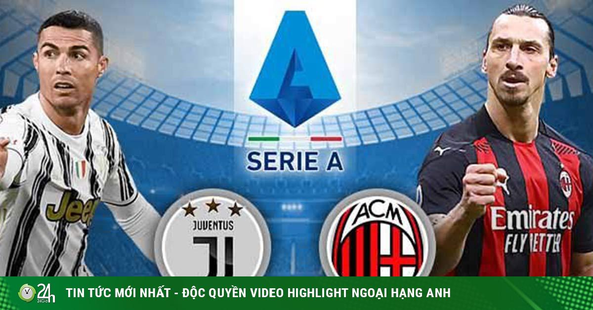 Soi trận hot hôm nay: Juventus – AC Milan đại chiến suất top 4, Arsenal níu kéo mùa giải