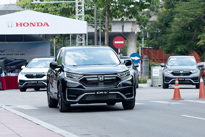 Giá xe Honda CR-V lăn bánh tháng 5/2021 - 12