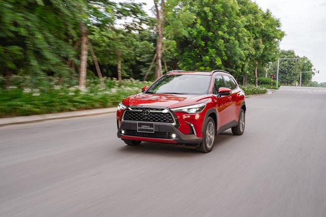 Giá xe Toyota Corolla Cross lăn bánh tháng 5/2021 - 14