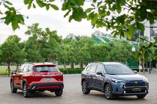 Giá xe Toyota Corolla Cross lăn bánh tháng 5/2021 - 9