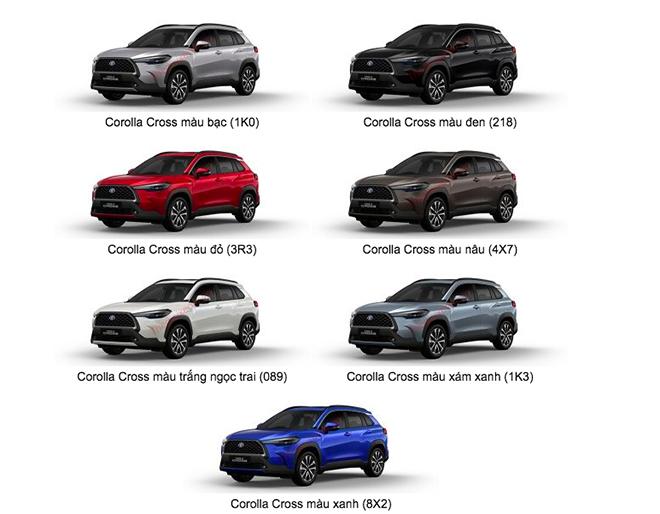 Giá xe Toyota Corolla Cross lăn bánh tháng 5/2021 - 4