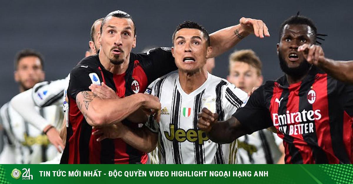 Video Juventus - AC Milan: Ronaldo bất lực, 3 bàn đánh sập giấc mơ