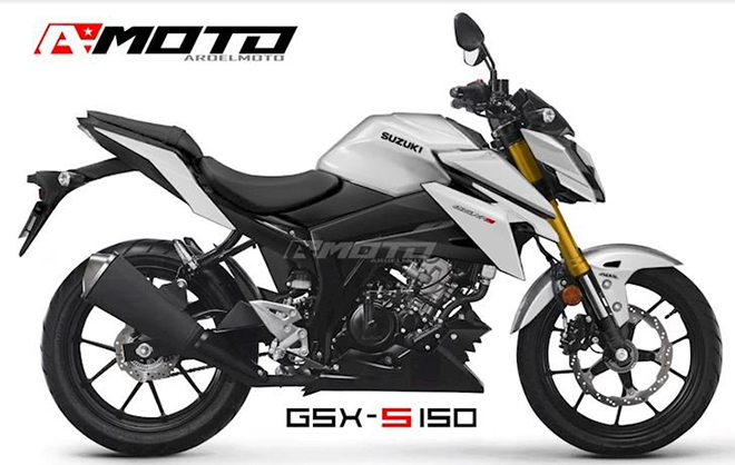 """Chân dung """"cực ngầu"""" của Suzuki GSX-S150 2022 - 4"""