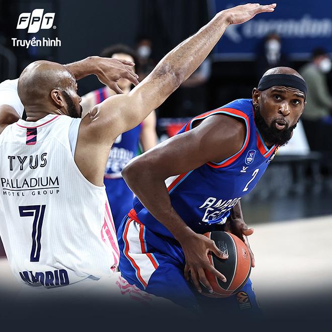 Vòng Playoffs Giải Bóng rổ Vô địch châu Âu EuroLeague 2021 - Anadolu Efes Istanbul và sức mạnh của những chiến binh Thổ Nhĩ Kỳ - 1