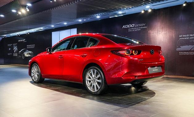 Giá xe Mazda3 tháng 05/2021 mới nhất và đánh giá nhanh - 6