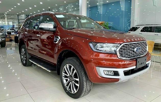 Giá xe Ford Everest mới tháng 05/2021 và thông số kỹ thuật - 2