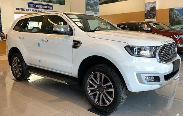 Giá xe Ford Everest mới tháng 05/2021 và thông số kỹ thuật - 4