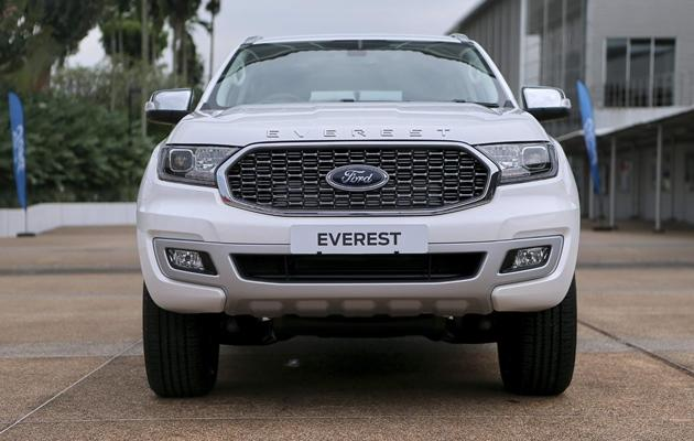 Giá xe Ford Everest mới tháng 05/2021 và thông số kỹ thuật - 3