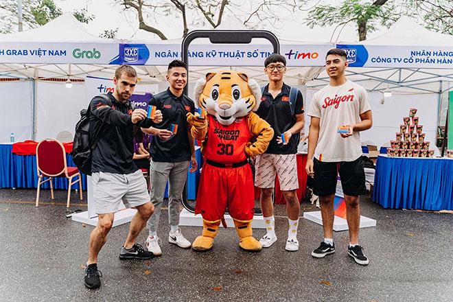 Timo trở thành nhà tài trợ chính thức của Saigon Heat tại VBA 2021 - 2