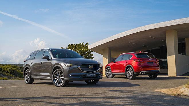 Giá xe Mazda CX-8 lăn bánh tháng 5/2021 - 1