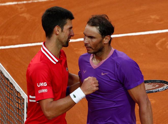 Nghịch lý bảng xếp hạng tennis 17/5: Nadal không có điểm, Djokovic lập kỷ lục - 1