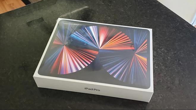 Đập hộp sớm iPad Pro 12,9 inch M1 2021 siêu xịn mịn - 3
