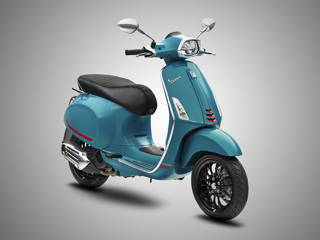 2021 Vespa Primavera và Sprint có màu mới, mang vẻ đẹp không giới hạn - 3