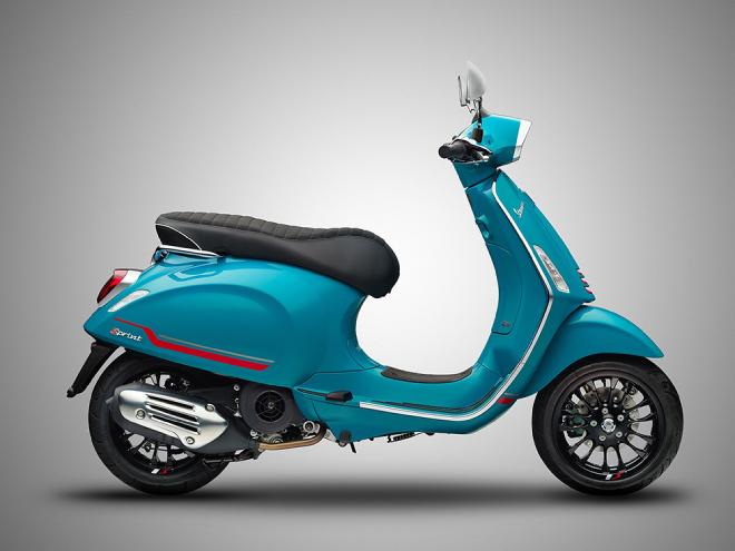 2021 Vespa Primavera và Sprint có màu mới, mang vẻ đẹp không giới hạn - 7