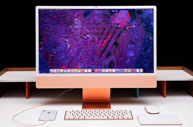 iMac 24 inch M1: Máy tính để bàn cho tất cả mọi người - 1